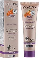 Духи, Парфюмерия, косметика Био-крем ночной восстанавливающий - Logona Age Protection Regenerating Night Cream