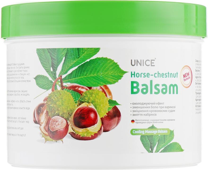 Гель-бальзам с экстрактом конского каштана - Unice Horse Chestnut Balsam