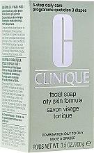 Духи, Парфюмерия, косметика Мыло для жирной кожи лица - Clinique Oily Skin Facial Soap