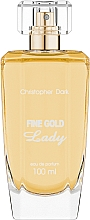 Christopher Dark Fine Gold Lady - Парфумована вода — фото N1