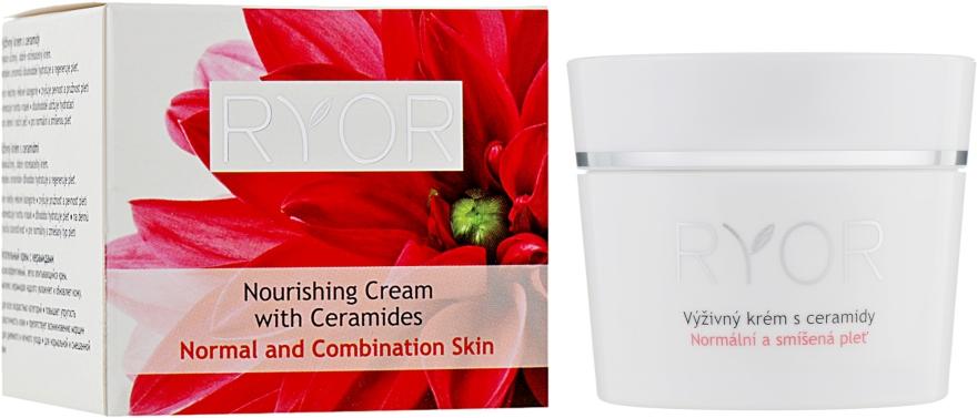 Питательный крем с керамидами - Ryor Nourishing Cream With Ceramides