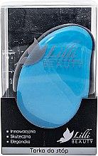 Духи, Парфюмерия, косметика Терка для ног, голубая - Lilli Beauty Foot File