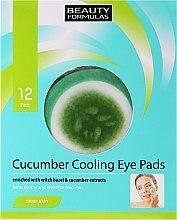 Духи, Парфюмерия, косметика Патчи под глаза - Beauty Formulas Cucumber Cooling Eye Pads