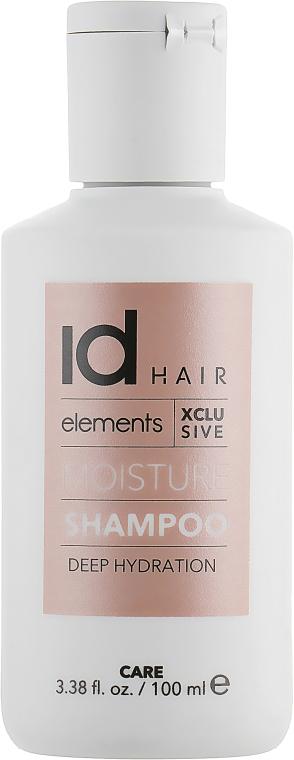 Зволожувальний шампунь для волосся - idHair Elements Xclusive Moisture Shampoo — фото N1