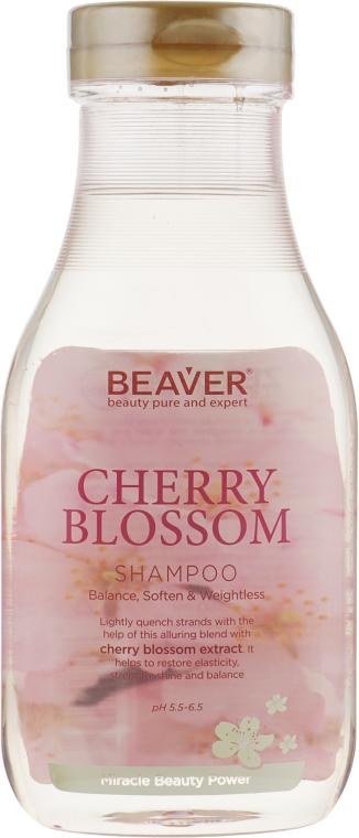 Шампунь для ежедневного использования с экстрактом цветов Сакуры - Beaver Professional Cherry Blossom Shampoo