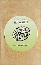 Кофейный скраб с коноплей - BodyBoom Cannabis Oil Coffee Scrub — фото N3
