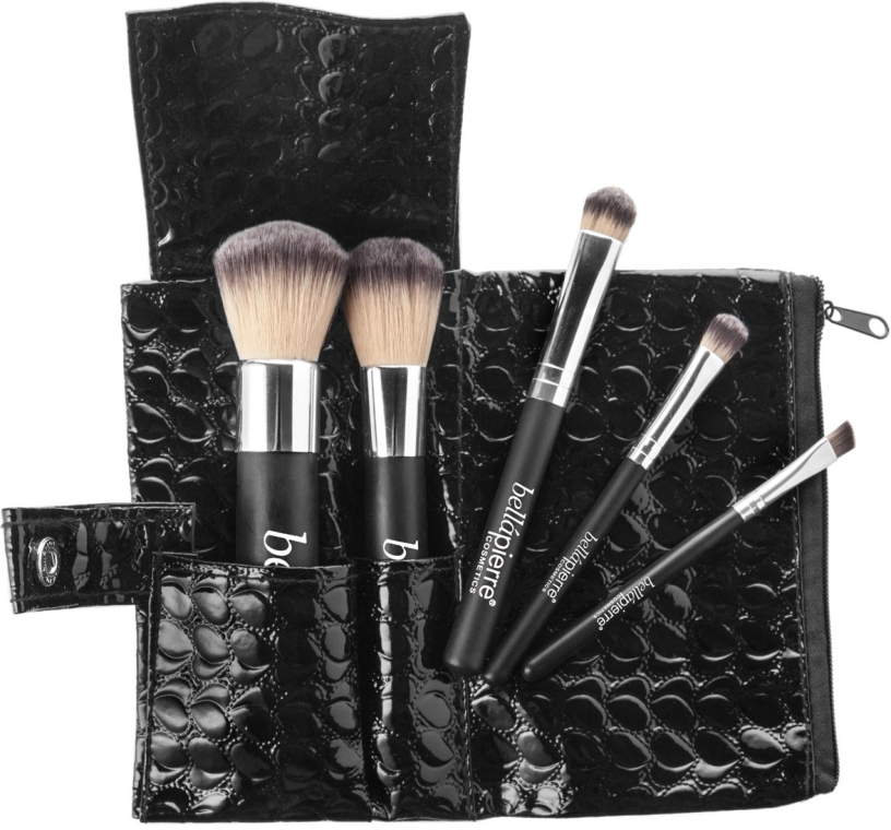 Набор из 5 кистей - Bellapierre Brush Travel Set