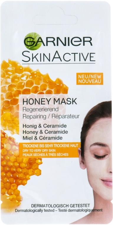Восстанавливающая маска для лица с мёдом - Garnier SkinActive Honey Mask