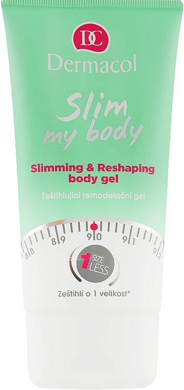 Моделирующий гель для тела - Dermacol Slim My Body Slimming & Reshaping Gel