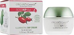 Духи, Парфюмерия, косметика Дневной крем для лица - Organix Cosmetix Rose Hip Oil Illuminating Day Cream