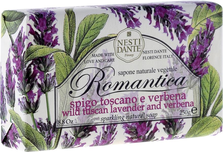 Мыло с ароматами лаванды и вербены - Nesti Dante Romantica