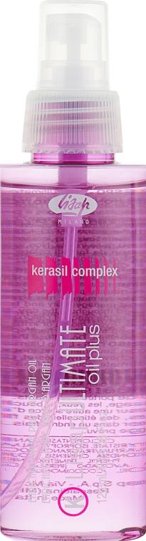 Масло для ухода за гладкими и курчавыми волосами - Lisap Ultimate Plus Oil