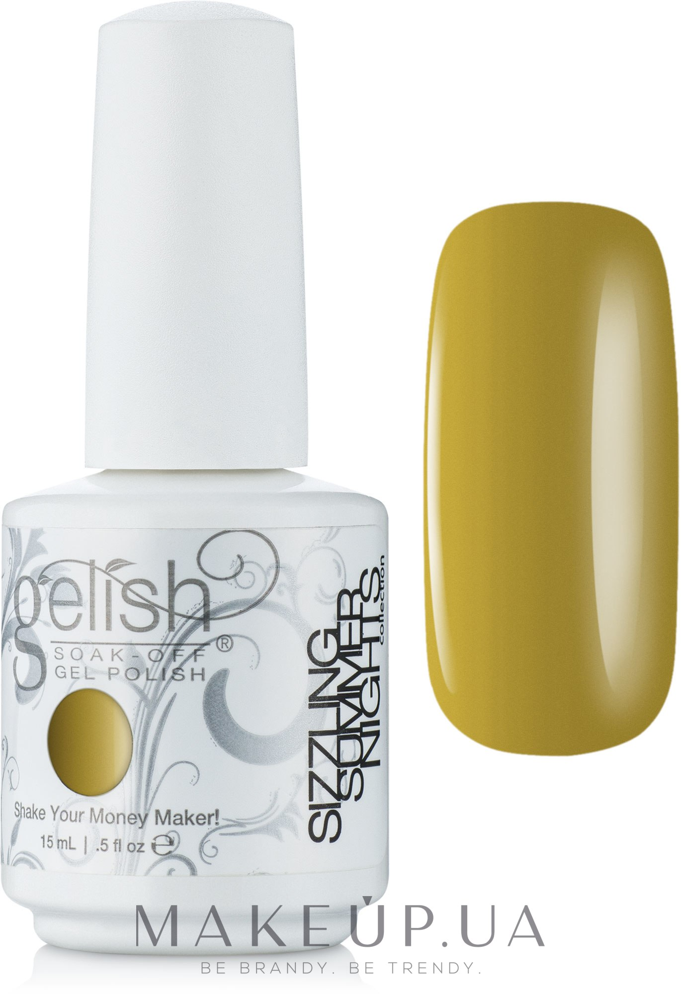 Гелевый лак - Gelish Soak Off Gel Polish — фото 01018 - Dirty Martini