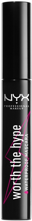 Тушь для ресниц - NYX Professional Makeup Professional Worth The Hype Waterproof Mascara