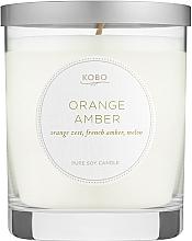 Духи, Парфюмерия, косметика Kobo Orange Amber - Ароматическая свеча