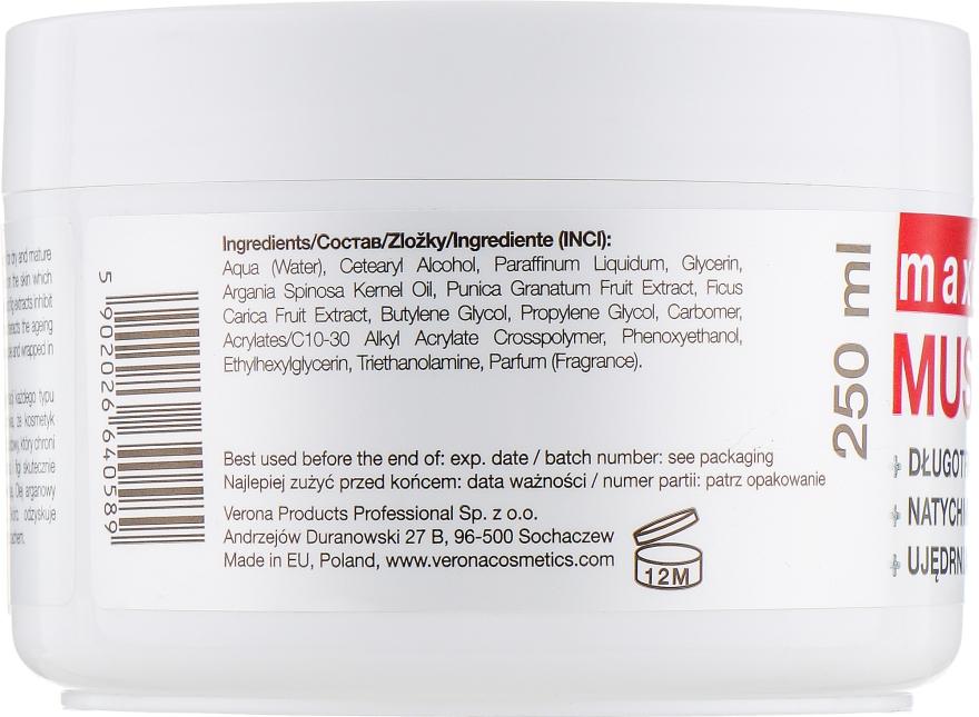 Масло для тела с экстрактами граната, инжира и аргановым маслом - Vollare Body Butter — фото N3