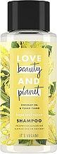 """Духи, Парфюмерия, косметика Шампунь для волос """"Восстановление и забота"""" - Love Beauty&Planet Coconat Oil & Ylang Ylang"""