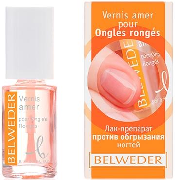 Лак-препарат против обгрызания ногтей и кутикул - Belweder Nail Polish