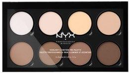 Духи, Парфюмерия, косметика Палетка для контурирования - NYX Professional Makeup Highlight & Contour Pro Palette