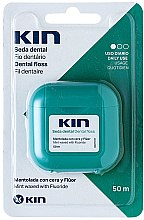 Духи, Парфюмерия, косметика Зубная нить - Kin Dental Floss With Wax Minty