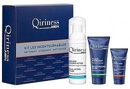 Набір - Qiriness Moisturizing Hydration KIT LES Incontournables (foam/50/ml+fluid/15/ml+gel/5/ml) — фото N1