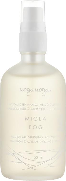 Увлажняющий мист для лица с гиалуроновой кислотой и экстрактом айвы - Uoga Uoga