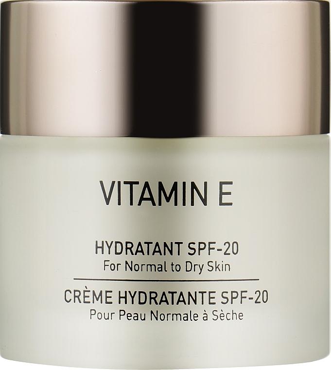 Зволожувач для сухої шкіри - Gigi Vitamin E Moisturizer for dry skin SPF 17 — фото N1