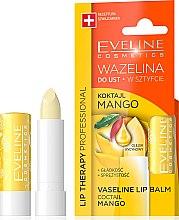 "Духи, Парфюмерия, косметика Бальзам для губ ""Манго"" - Eveline Cosmetics Lip Therapy Proffesional Vaseline Lip Balm"