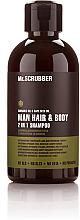 Парфумерія, косметика Чоловічий шампунь для волосся та тіла - Mr.Scrubber Solid Man Hair&Body Shampoo 2 In 1