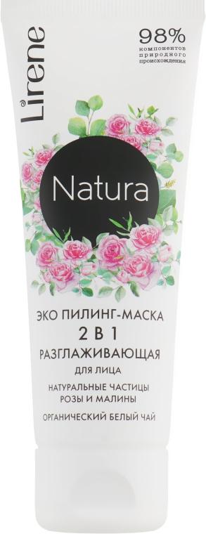 Маска-пилинг для лица - Lirene Natura Eco Peeling-Mask