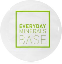 Парфумерія, косметика Основа під макіяж - Everyday Minerals Semi-Matte Base (пробник)