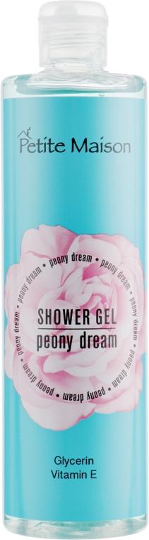"""Гель для душа """"Пионовая мечта"""" - Petite Maison Shover Gel Peony Dream"""
