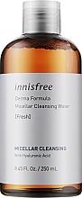 Духи, Парфюмерия, косметика Мицеллярная вода с гиалуроновой кислотой - Innisfree Derma Formula Micellar Cleansing Water Fresh