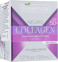 Крем-лифтинг против морщин 50+ - Bielenda Neuro Collagen Lifting Anti-Wrinkle Cream — фото N1