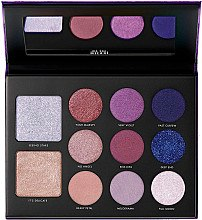 Духи, Парфюмерия, косметика Палетка для макияжа - Giordani Gilded Violet Hyper-pigmented Eye & Face Palette