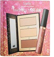 Духи, Парфюмерия, косметика Набор - Tarte Cosmetics Favorites to Glow Color Collection(palette/6.9g+lip/paint/6ml)