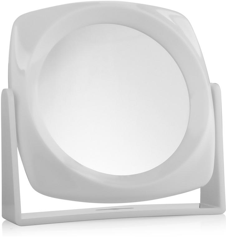 Косметическое зеркало двухстороннее, 18x18см - Titania