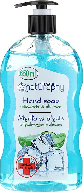 """Жидкое мыло """"Антибактериальное"""" - Bluxcosmetics Naturaphy Hand Soap"""