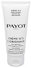 Духи, Парфюмерия, косметика Дневной крем для лица - Payot Creme No2 L'Originale Anti-Diffuse Redness Soothing Care
