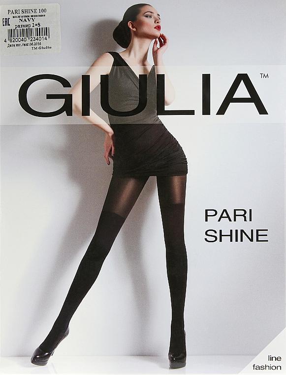 """Колготки для женщин """"Pari Shine"""" 100 Den, navy - Giulia"""