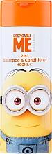 Духи, Парфюмерия, косметика Детский шампунь-кондиционер для волос - Corsair Despicable Me Minions 2in1 Shampoo&Conditioner