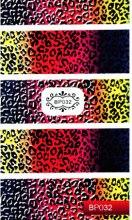 Духи, Парфюмерия, косметика Наклейка для дизайна ногтей - Kodi Professional Nail Art Stickers BP032