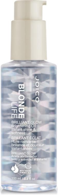 Масло для бриллиантового блеска - Joico Blonde Life Brilliant Glow Brightening Oil — фото N1