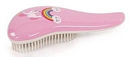 Духи, Парфюмерия, косметика Расчёска для пушистых, длинных детских волос, розовая - Sibel D-Meli-Melo Mini Magic Dreams
