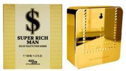 Духи, Парфюмерия, косметика Sterling Parfums Super Rich - Туалетная вода