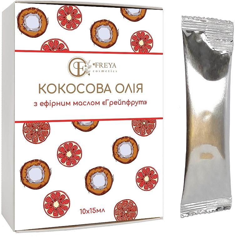 "Кокосовое масло ""Грейпфрут"" - Freya cosmetics"