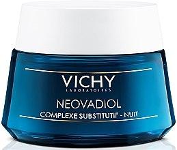 Антивозрастной ночной крем-уход с компенсирующим эффектом для всех типов кожи - Vichy Neovadiol Nuit Compensating Complex  — фото N1