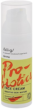 Крем для зрелой чувствительной кожи - Kili·g Derma Face Cream Sensitive Skin Mature