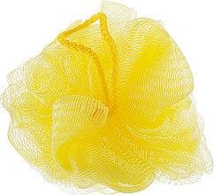 """Губка банная сетчатая """"Bant"""", желтая + салатовая + желтая - Акватория — фото N3"""
