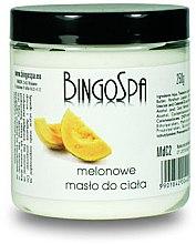 Духи, Парфюмерия, косметика Масло для тела с дыней - BingoSpa Melon Body Butter